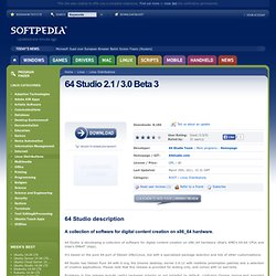 Download 64 Studio 2.1 / 3.0 Beta 3 for Linux - A collection of software for digital content creation on x86_64 hardware