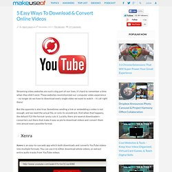 5 Easy Ways To Download & Convert Online Videos