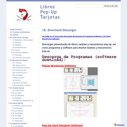 18. Download Descargas - Libros Pop-Up Tarjetas