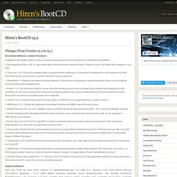 Download Hiren's BootCD 15.0