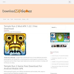 Temple Run 2 Mod APK 1.22.1 Free Download - DownloadZipGames