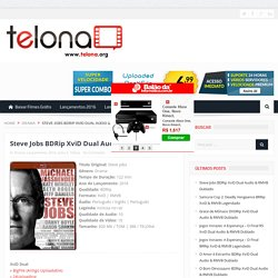 Download Steve Jobs BDRip XviD Dual Audio & RMVB Dublado Baixar Grátis - Telona.org