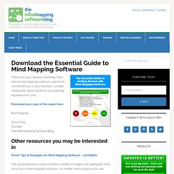 Download the Essential Guide to Mind Mapping Software