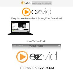 Download - ezvid.com