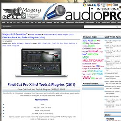 Final Cut Pro X Incl Tools & Plug-ins (2011)