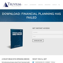 Download eBook: Financial Planning has failed