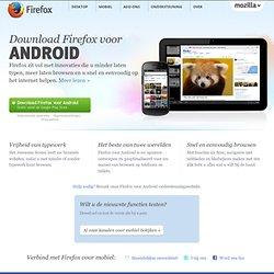 Firefox | Firefox voor Android of Nokia N900 | Download Firefox naar uw mobiele apparaat