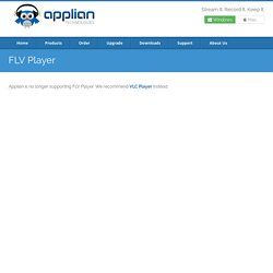 Free FLV Player, FLV Converter and FLV Recorder