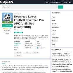 Download Latest Football Chairman Pro APK 1.5.2 [Unlimited Money/MOD]