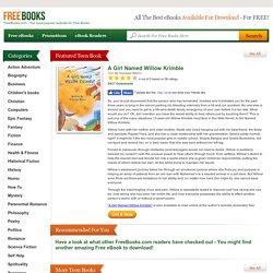 Free Teen eBooks