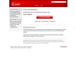 Download Free Java Software