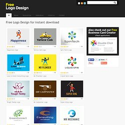 Free Logo Design | Download Cool Quality Logo Design for Free