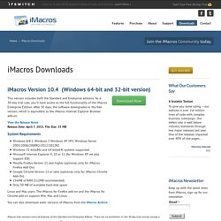iMacros for Firefox - Script your Firefox Web Browser