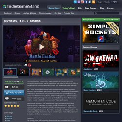 Monstro: Battle Tactics - download this indie game today from the IndieGameStand Store
