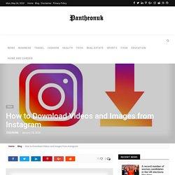 Download Instagram Images in seconds