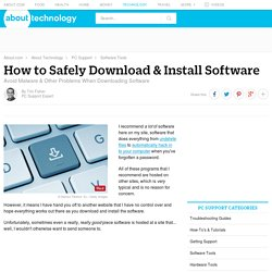 How to Safely Download & Install Software