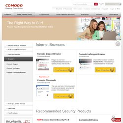 Download Free Internet Browsers from Comodo