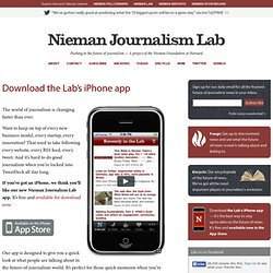 Download the Lab's iPhone app