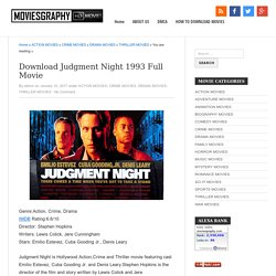 Download Judgment Night 1993 Full Movie