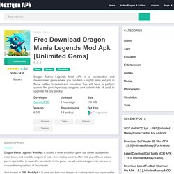 Free Download Dragon Mania Legends Mod Apk 6.0.0 [Unlimited Gems]