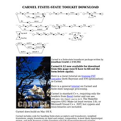 Carmel Download (License Agreement)