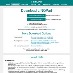 Download LINQPad