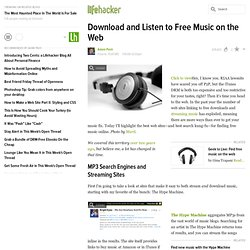 Feature: Download and Listen to Free Music on the Web