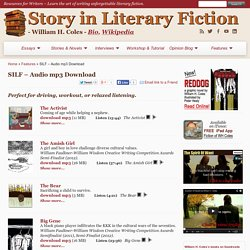 Story in Literary Fiction