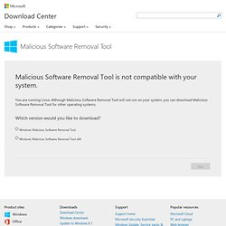 Download details: Windows Malicious Software Removal Tool x64