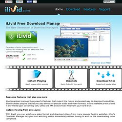 iLivid - Download Manager