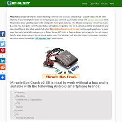 Download Miracle Box Crack V2.88 (Setup+Loader) 100% Working