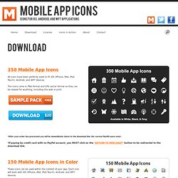 Download Mobile App Icons