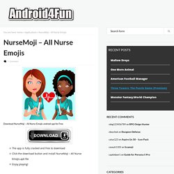 Download NurseMoji - All Nurse Emojis Android APK Game for Free - Android4Fun.net