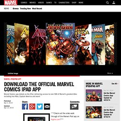 Download the Official Marvel Comics iPad App | Marvel Heroes | Comic News