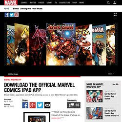 Download the Official Marvel Comics iPad App