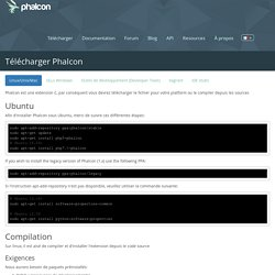 Download Phalcon for Linux/Unix/Mac