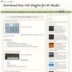 Vst plugins torrent for fl studio 10 download