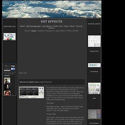Plugins VST gratuit, effets virtuels