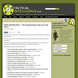 Free: The Preparedness Review Fall 2013