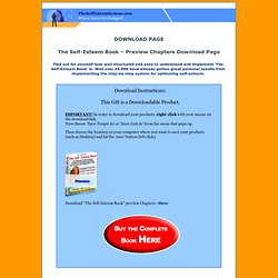 Download Page for The Self-Esteem Book Preview version