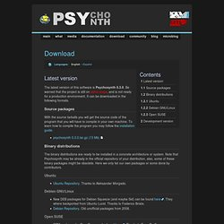 Download - Psychosynth