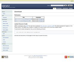 Download - QEMU