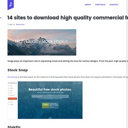 14 sites to download high quality commercial free stock photos – Jayhan Loves Design & Japan