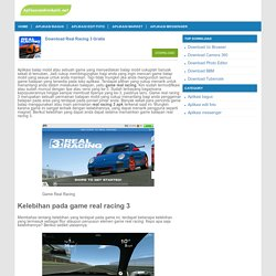 Download Real Racing 3 - Real Racing 3 apk versi terbaru