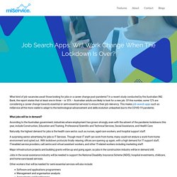 Download & Register Job Search Apps from miService Today