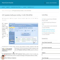 Download HP Update Software Utility