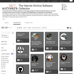 Download & Streaming : The Internet Archive Software Collection