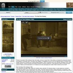 The Great Train Robbery : Edwin S Porter