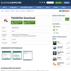 TDSSKiller Download