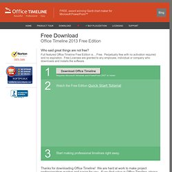 Download the #1 Free Timeline Maker for PowerPoint